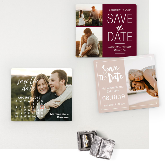 Inexpensive Save Dates