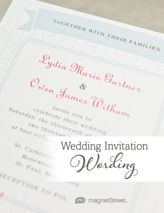 Casual Wedding Invitation Wording
