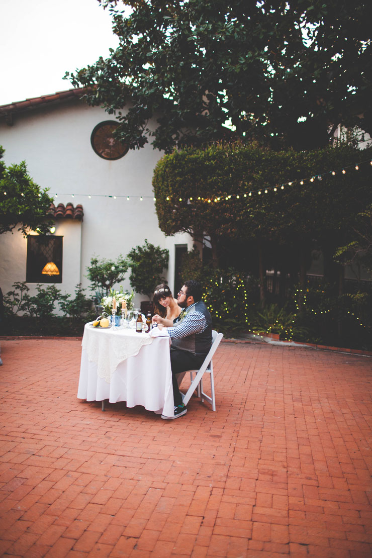 Lovely Garden Wedding At The Darlington House La Jolla