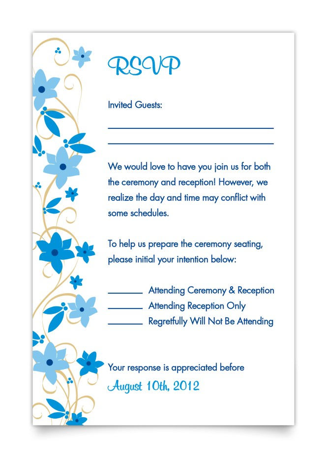 Wedding Reception Only Invitations To Bring Your Dream Design Into Invitation 20