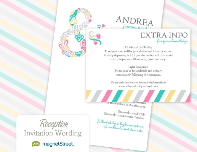 Full Size Of Wedding Invitations Invitation Wording Tail Hour And Reception To Follow