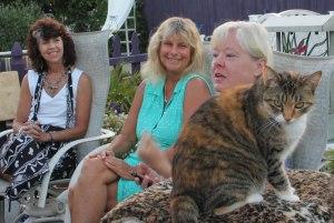 Takara, Roberta Goodman, Laurie Reyon, and Master Cat Puddah