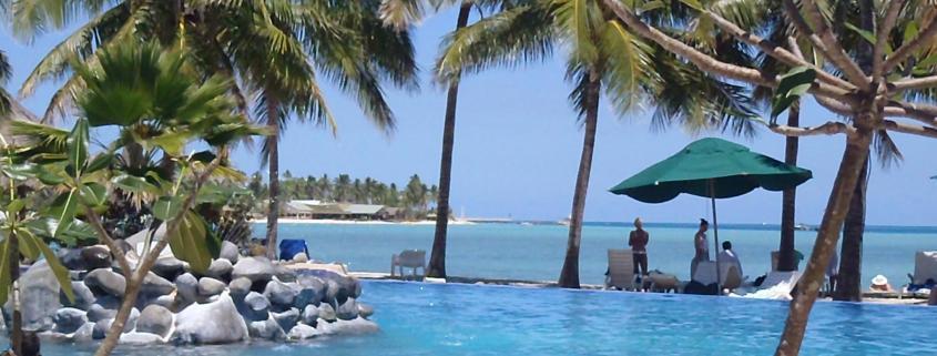 Fiji pool with ocean view by Takara