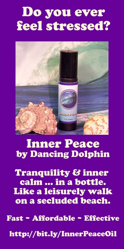 Inner Peace Dancing Dolphin Aromatherapy Flower Essence Blend