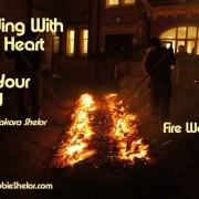 Firewalking for a Cuase