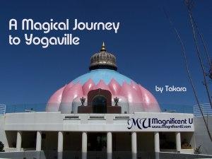 Yogaville - The Lotus Temple