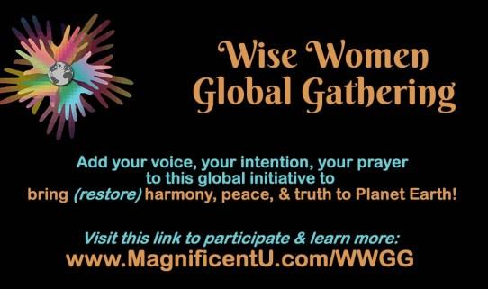 Wise Women Global Gathering Global Meditation Prayer