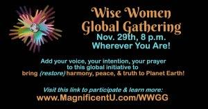 Wise Women Global Gathering Meditation Prayer for Peace