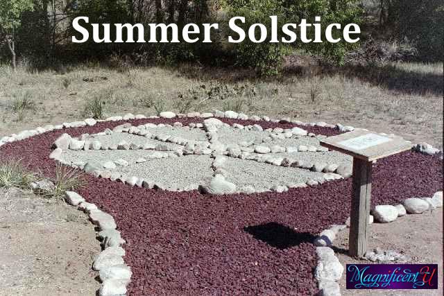 Summer Solstice Medicine Wheel