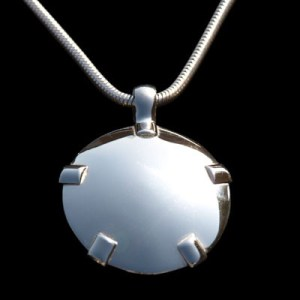 BioElectric Shield 14K White Gold