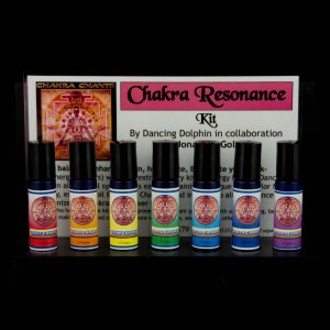 Chakra Resonance Aromatherapy Flower Essence Kit with Jonathan Goldman
