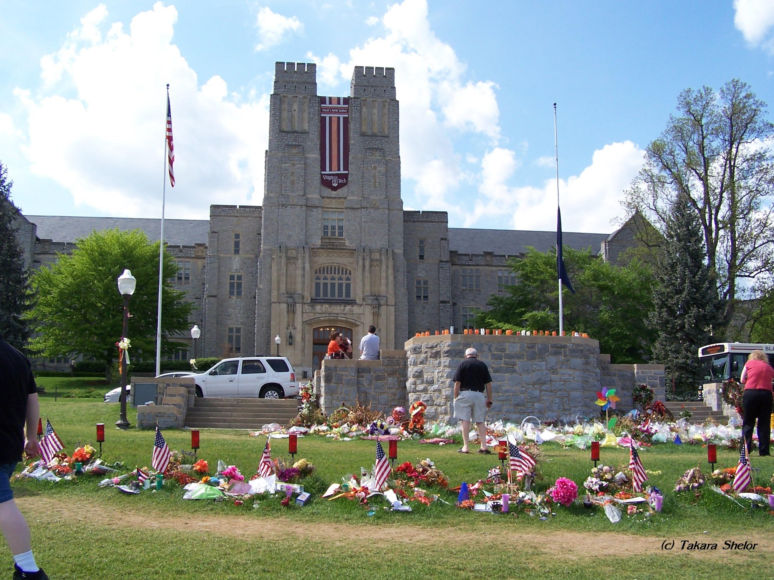 Virginia Tech Massacre Memorial by Takara