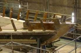 Restauro barche d'epoca