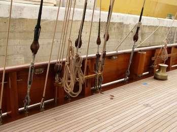 Manutenzione imbarcazione d'epoca