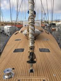 Realizzazione coperte in teak su misura per barche di grandi dimensioni