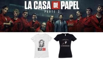 Camisetas imperdibles para Fans de La Casa de Papel