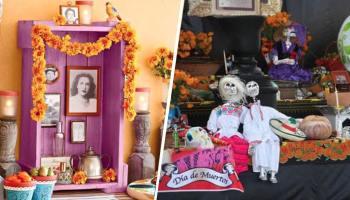 20 Ideas para montar tu altar de muertos