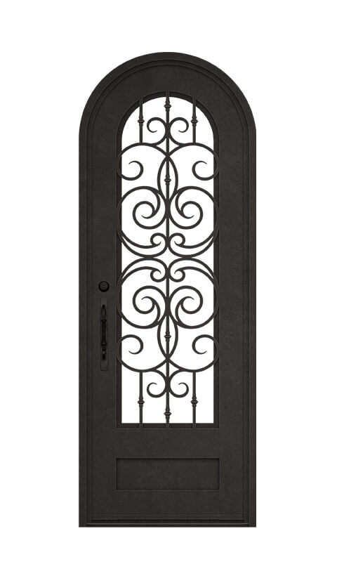 ROUND TOP STANDARD SINGLE DOOR