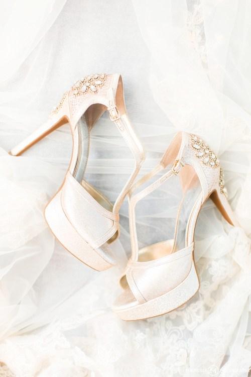 Wedding Platform Heels