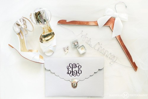 Monogram Clutch and Hanger