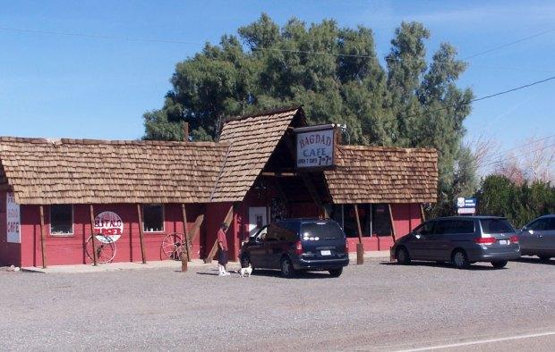 Bagdad Café - N. Springs, Califórnia