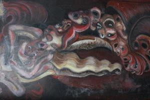 Gendercide image, painting by Erin Hilleary
