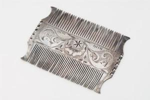 Jewish funerary comb, used for ritually preparing the body for interment. Photo: Sydney Jewish Museum.
