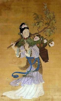 Immortal Magu, Qing dynastty China