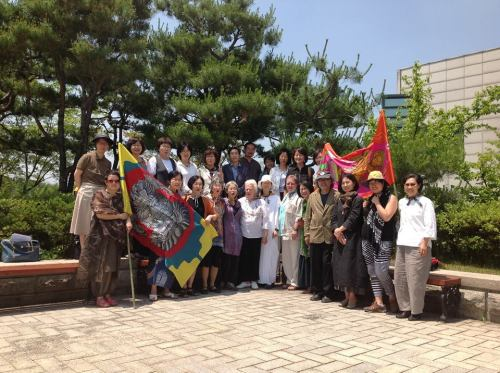 Intercontinental Goddess Conference held June 10, 2013, Seoul National University, photo by Young-Ai Kim