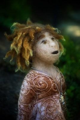 Jude Lally Celtic Goddess Doll