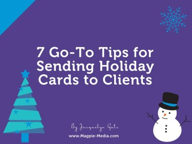 tis the season for showing gratitude and thinking of others - Christmas Cards For Clients