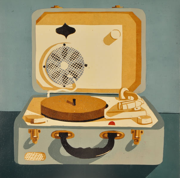 Record Player - Helen Peyton