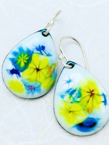 flowers-earrings