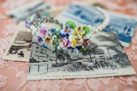 La Belle Epoque hair accessories via national Vintage Wedding fair blog