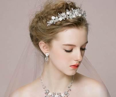 Etsy vintage style wedding head band in the Unique Bride Journal