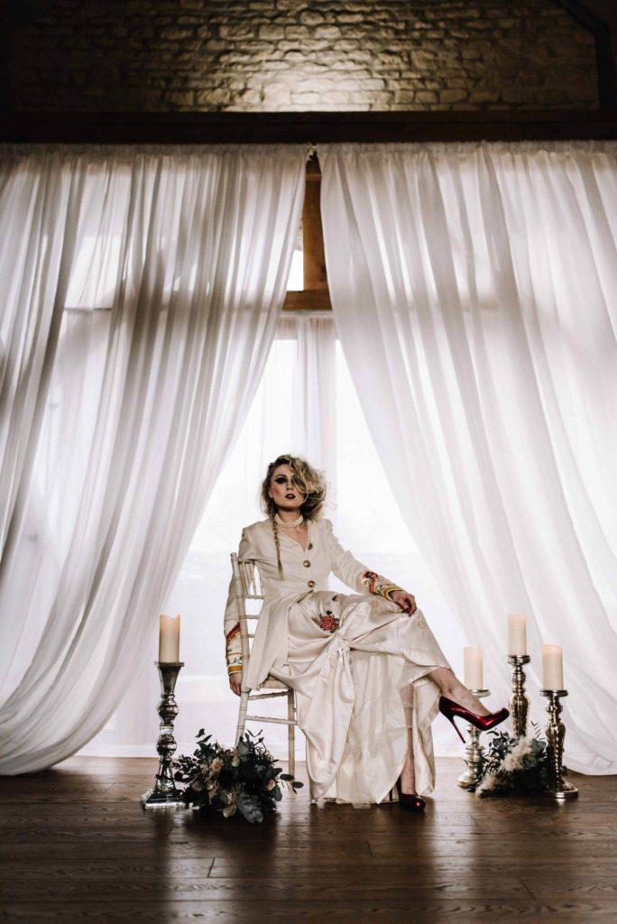 Pretty in Punk Wedding Inspiration