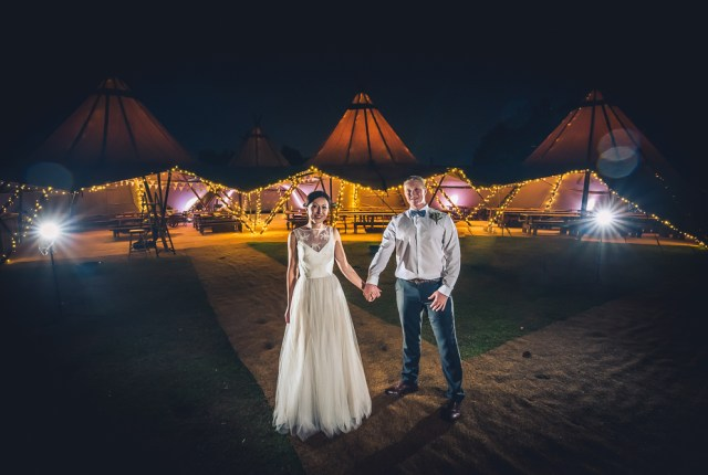 Rustic Tipi Wedding - A Starlit Ceremony with Autumnal Vibes