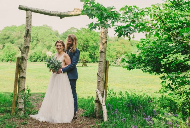 Garden Tipi Wedding with Romantic Rustic Boho Vibes