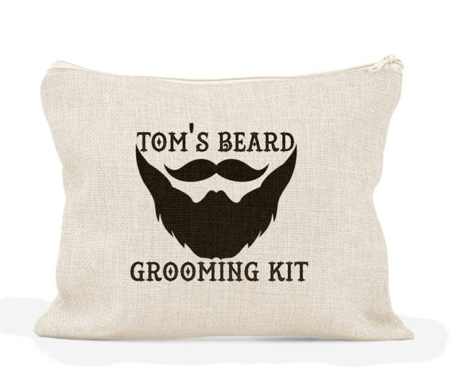Father of the groom wash bag