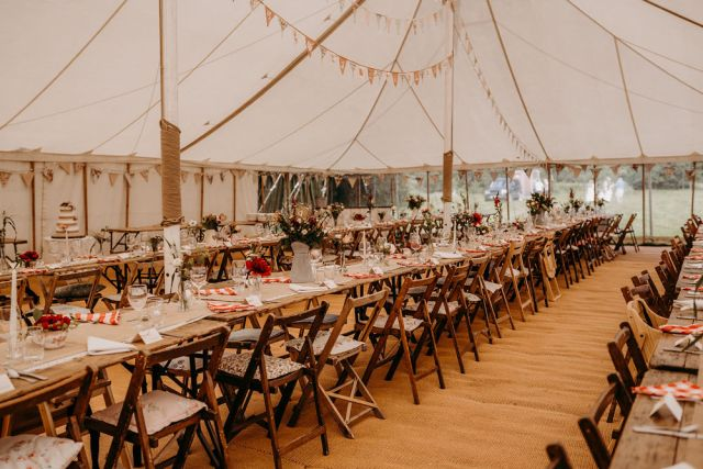 Vintage Marquee Wedding with Country Rustic Vibes