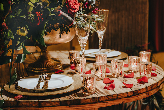 Rustic Winter Wedding With Luxury Styling and Romantic Dresses