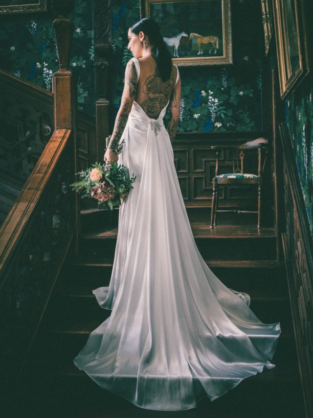 Modern Vintage Wedding Inspiration With Ethical Bridal Gowns