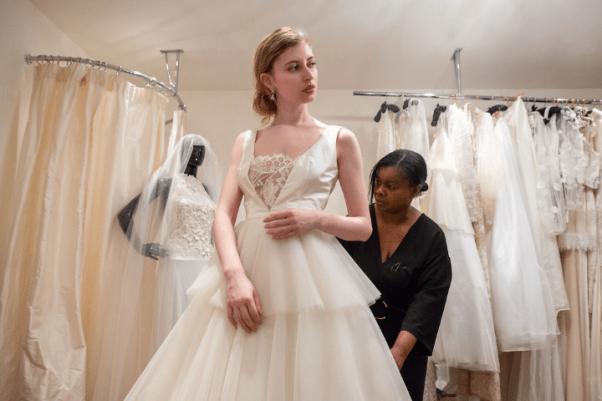Kate Edmondson Bridal on Magpie Wedding Blog