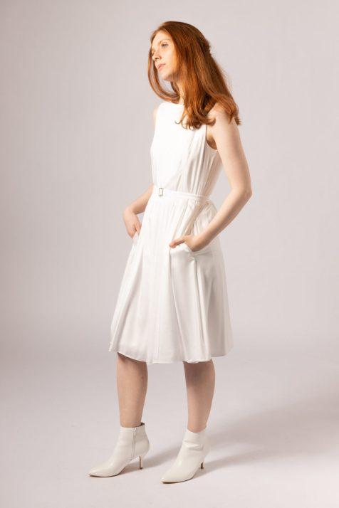Magpie Bamboo Silk short dress