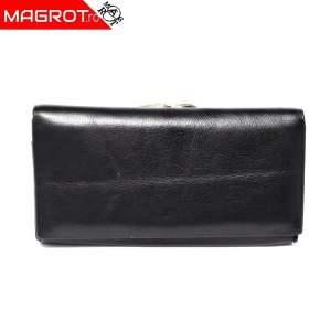 Portofel dama A-03 black original Hassion cu doua zone distincte din piele naturala veriabila. Este un portofel spatios.Vezi oferta!
