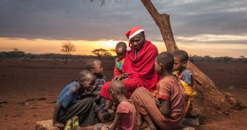 Christmas, Santa, Father Christmas, Osborne Macharia, Safaricom, Capture Kenya, Unexpected Kenya