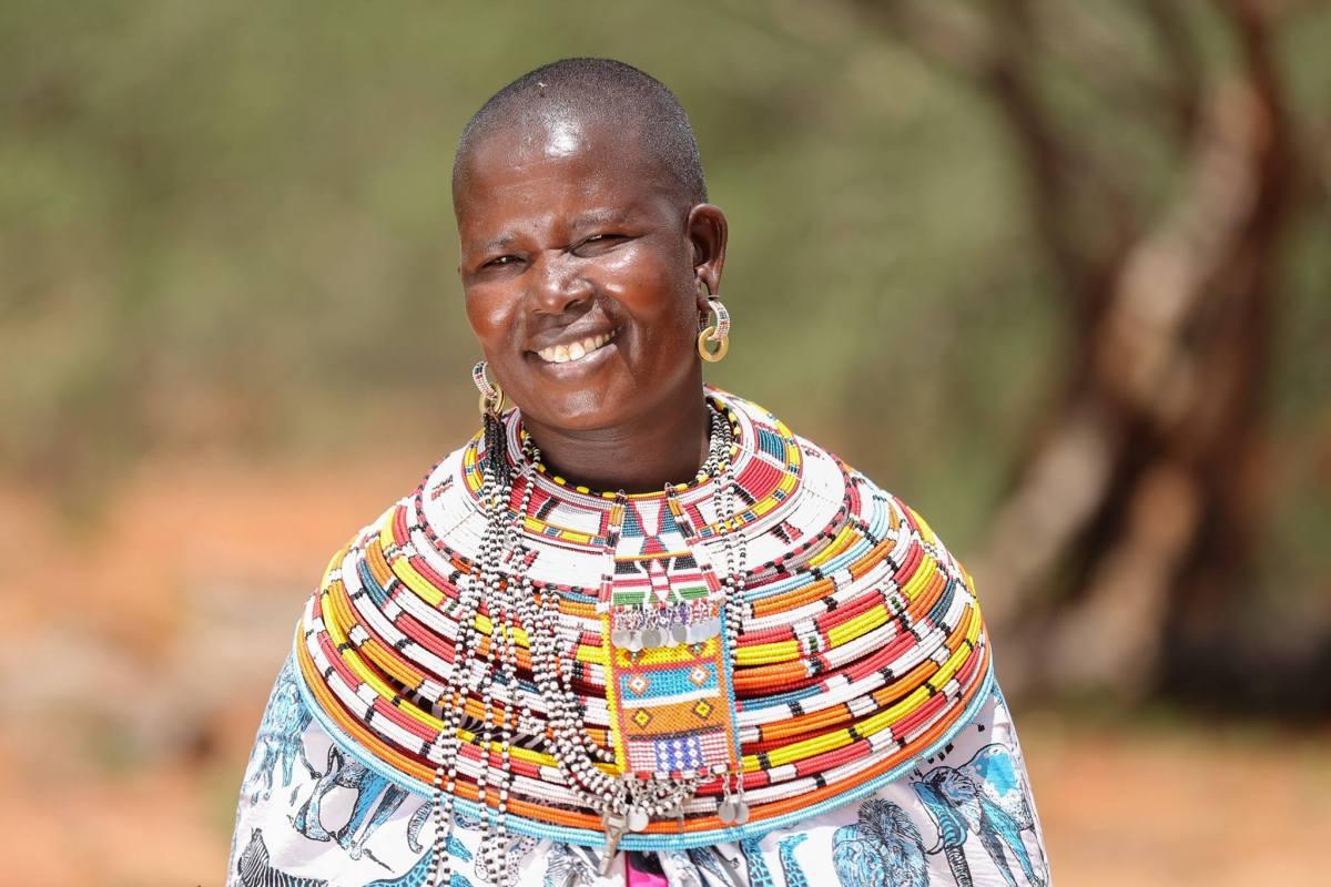 Nabiki Lesuperr, Kalama Conservancy, Samburu, Lewa Conservancy, Archers Post