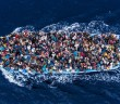 Lampedusa Refugees by Italian photographer Massimo Sestini