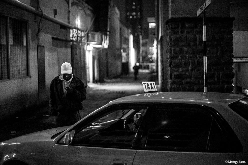 Nairobi Noir Taxi by Msingi Sasis
