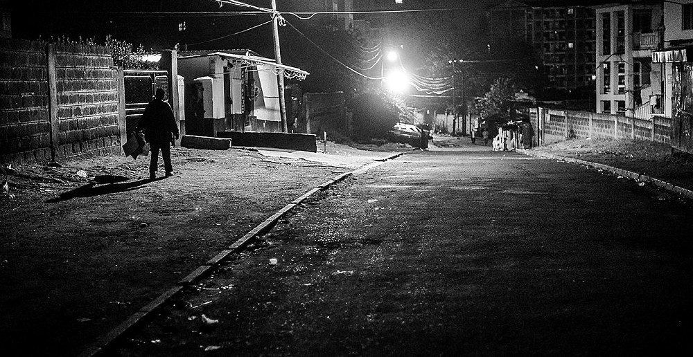 Strangers in the Night, Nairobi, Nairobi Noir, Msingi Sasis
